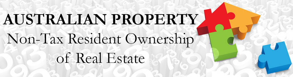 Non Tax Resident Ownership of Real Estate