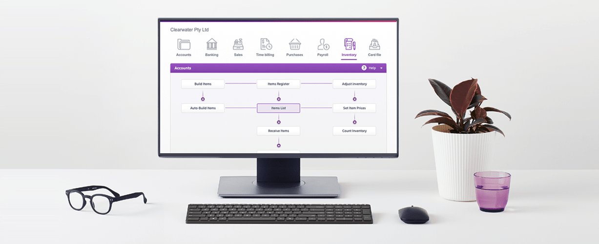 MYOB AccountRight pc